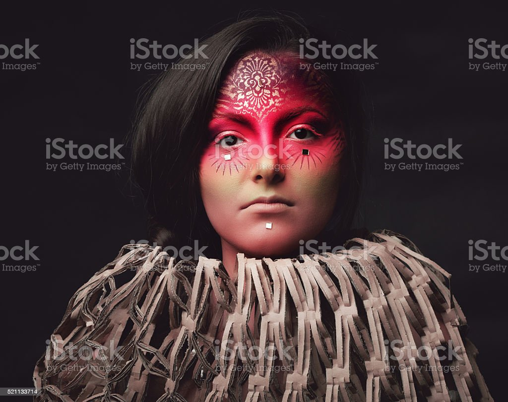 mistic and fashionable stock photo