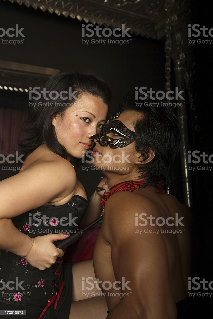 Mistress and Slave (ii) royalty-free stock photo