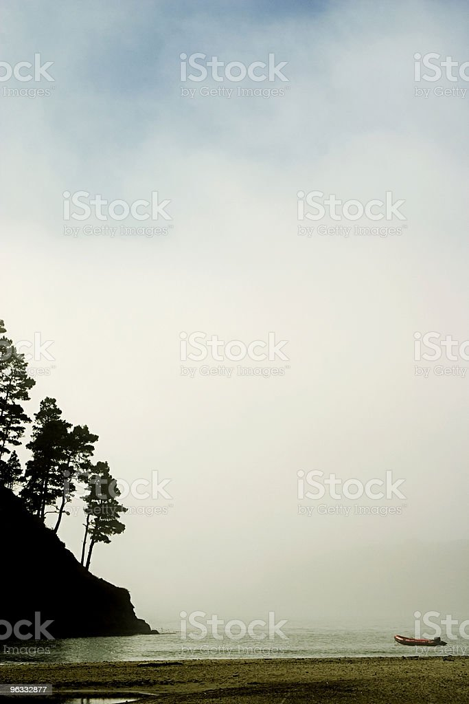 Misty Bay royalty-free stock photo