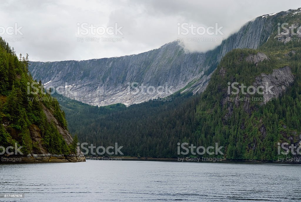 Misty Fjords National Monument, Alaska stock photo