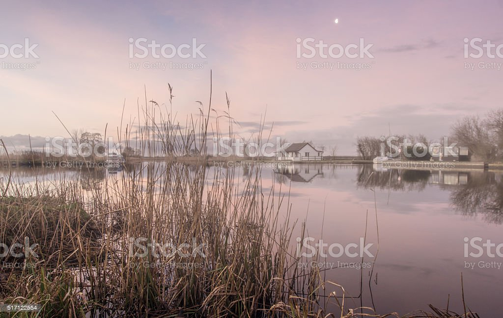 Misty Mornings stock photo