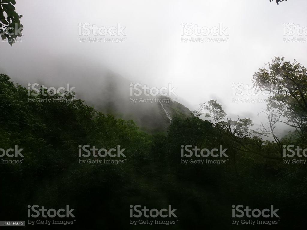 Misty Mountain royalty-free stock photo