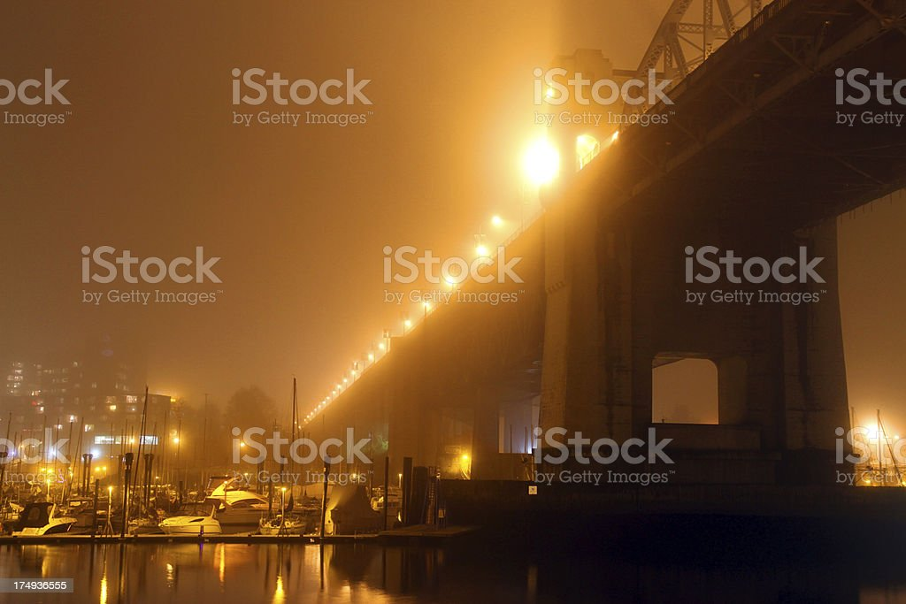 Misty Span royalty-free stock photo