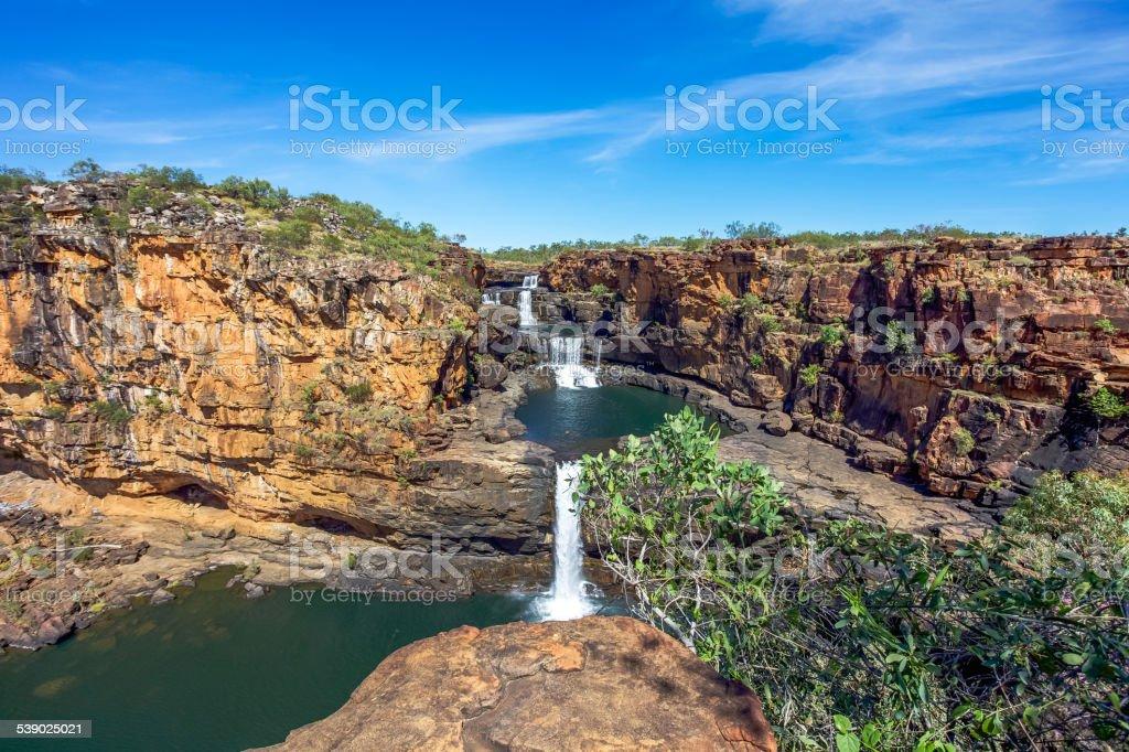 Mitchell Falls stock photo