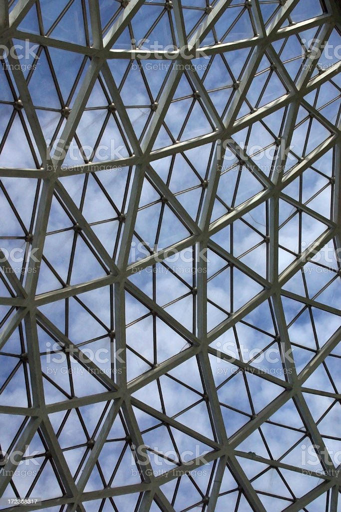Mitchell Park Dome Interior royalty-free stock photo