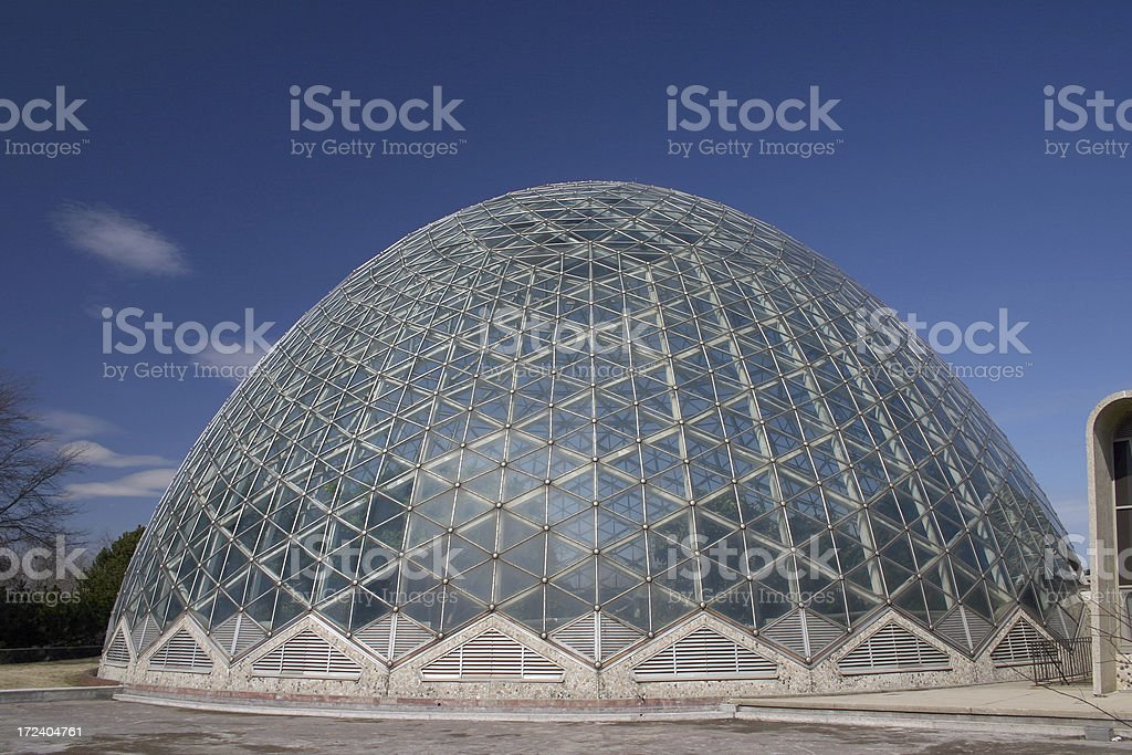 Mitchell Park Dome royalty-free stock photo