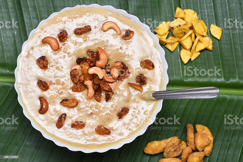 Mithai/Payasam sweet confectionery in Kerala India stock photo