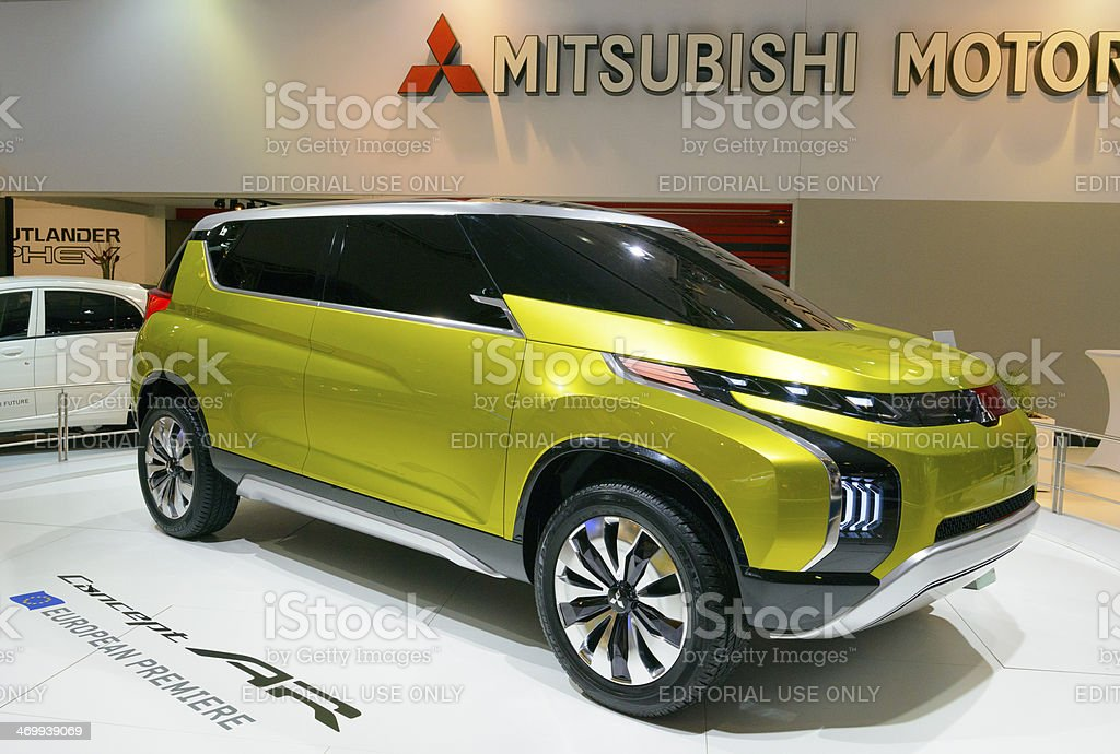 Mitsubishi Concept AR royalty-free stock photo
