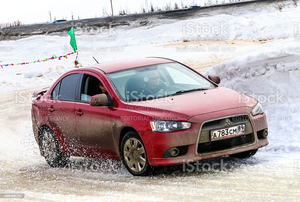Mitsubishi Lancer stock photo