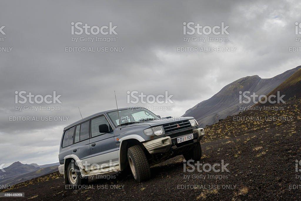 Mitsubishi Pajero 4x4 stock photo
