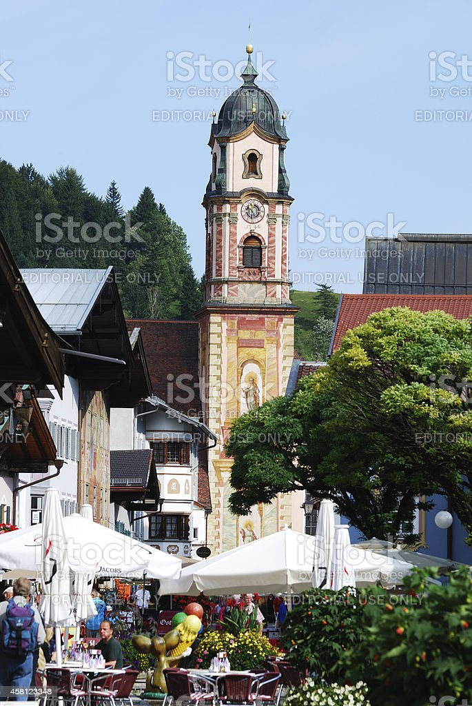 Mittenwald royalty-free stock photo