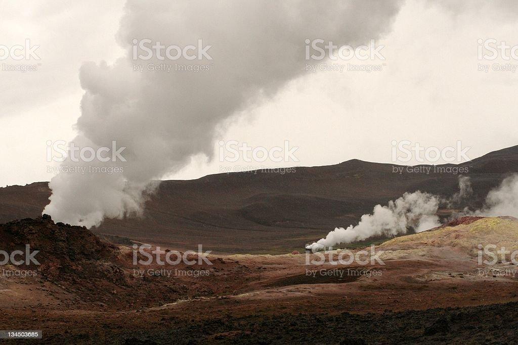 Mitvan, Islandia Lizenzfreies stock-foto