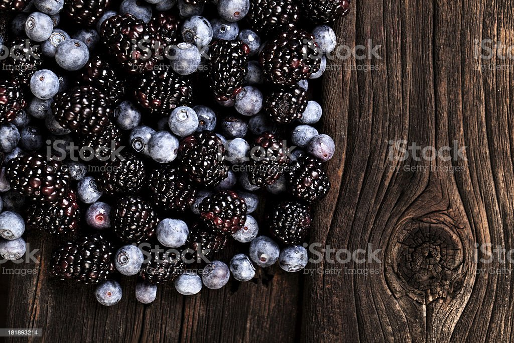 Mix Berries royalty-free stock photo