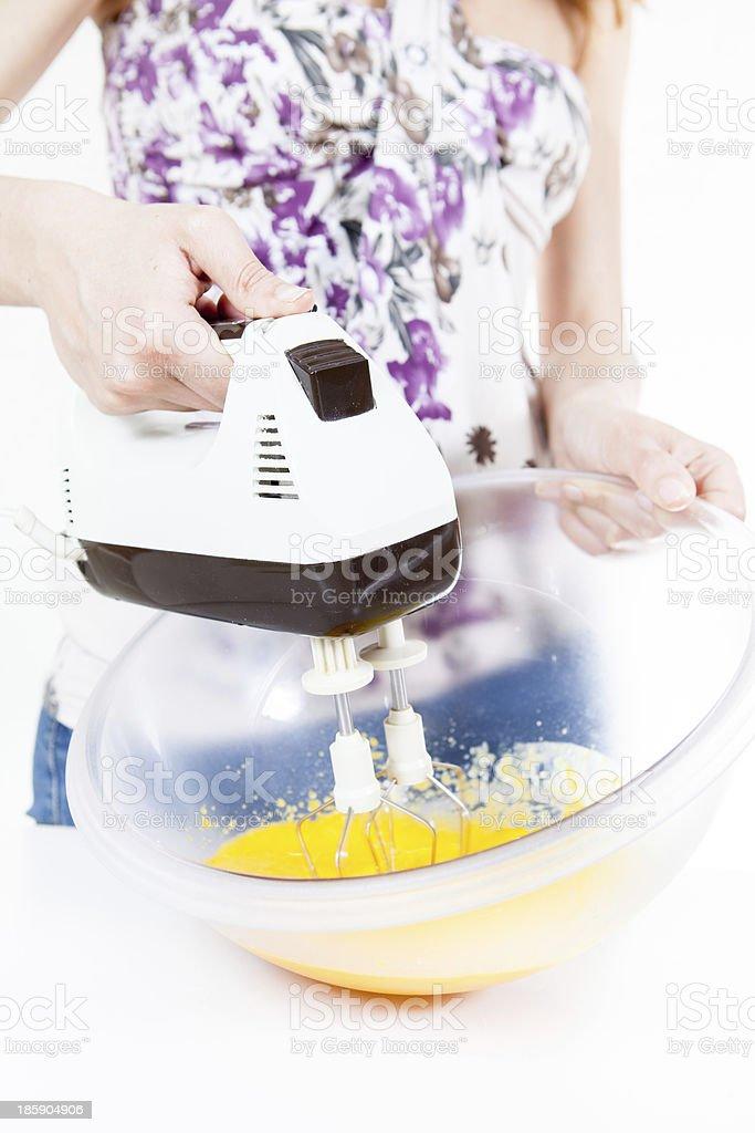 mix eggs royalty-free stock photo