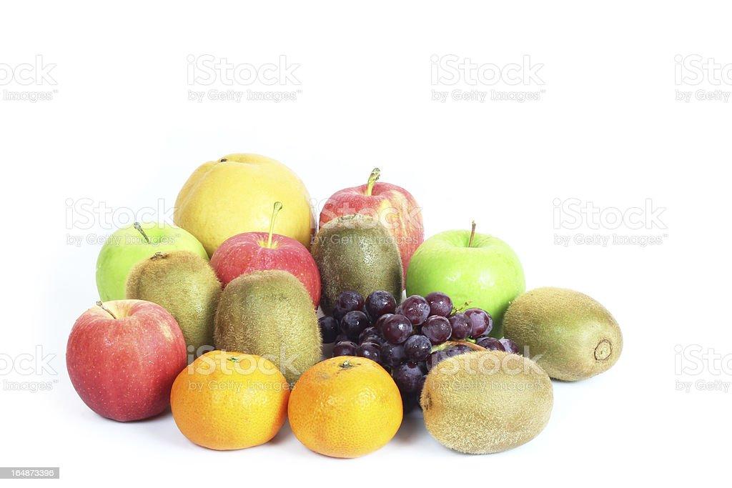 Mix fresh fruit royalty-free stock photo