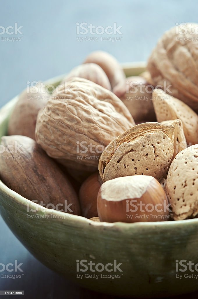 Mix Nuts royalty-free stock photo