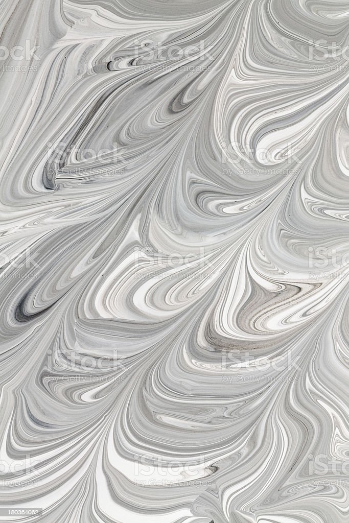 Mix of a white and black paint. royalty-free stock photo