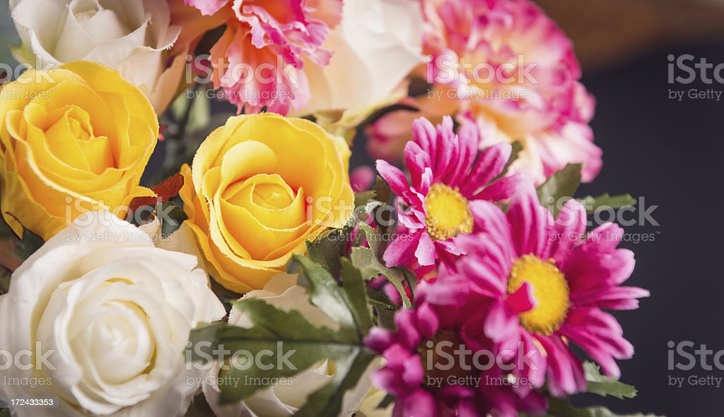 Mix of flower close up royalty-free stock photo