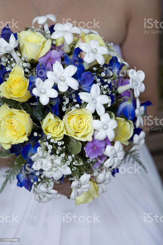 Mix of Flowers Bouquet royalty-free stock photo