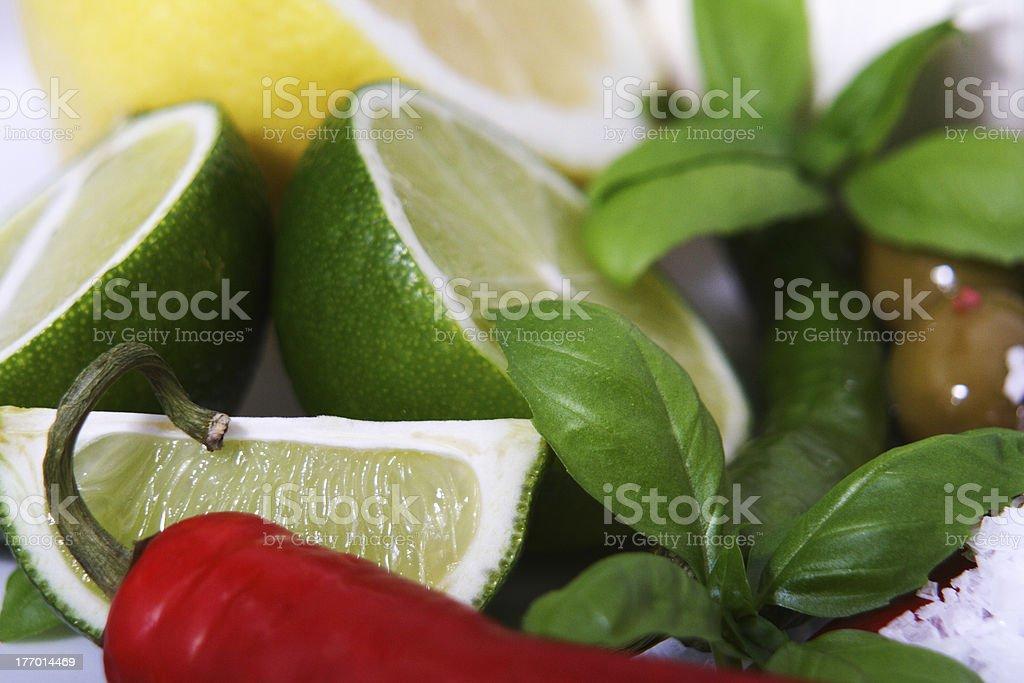 mix of fruit stock photo