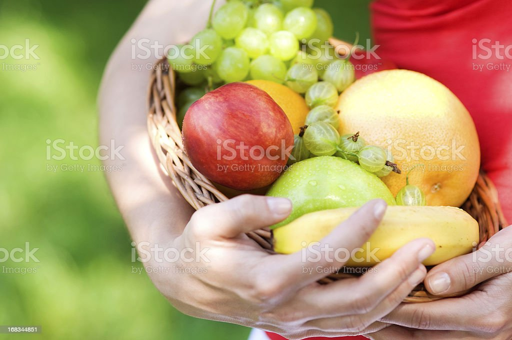 Mix of fruits royalty-free stock photo