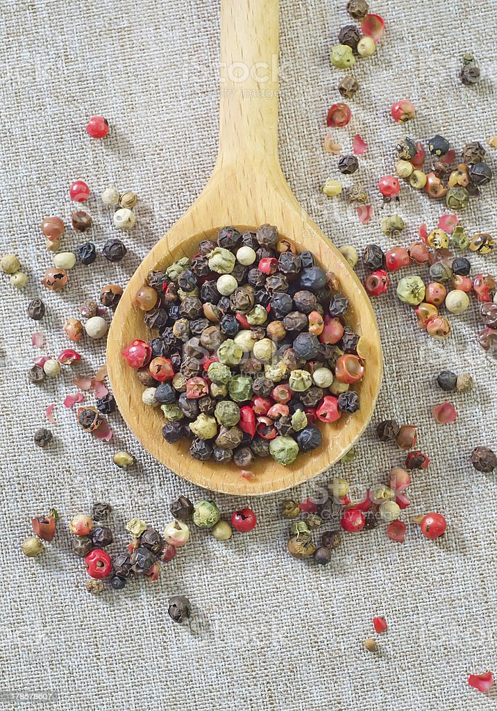 mix pepper royalty-free stock photo