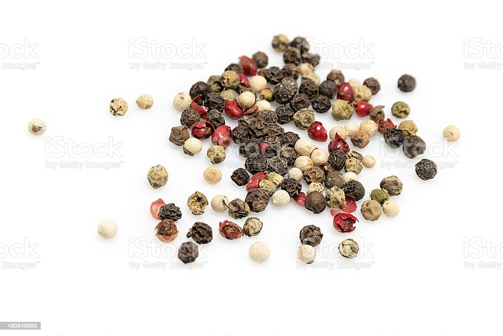 Mix  pepper stock photo