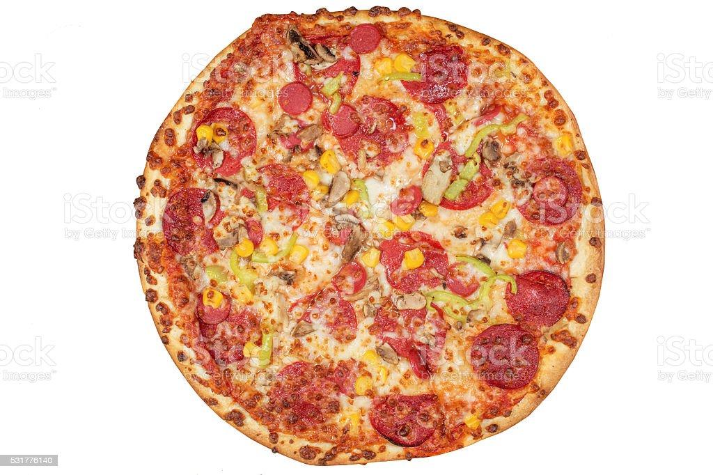 Mix Pizza stock photo