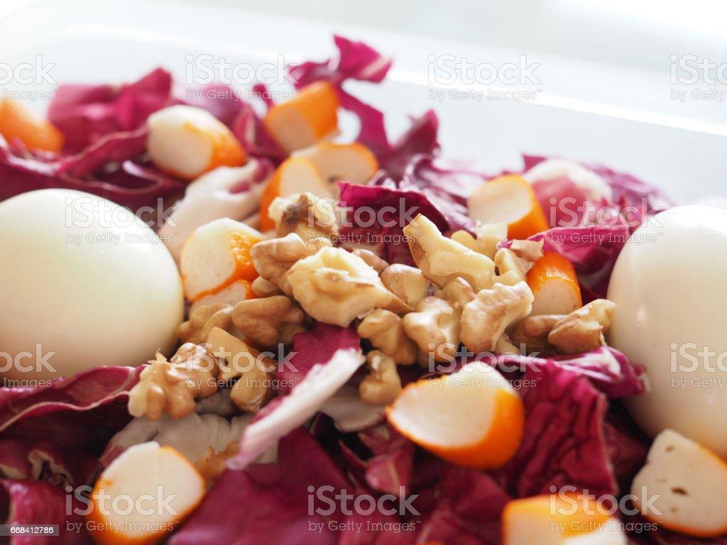 Mix salad stock photo