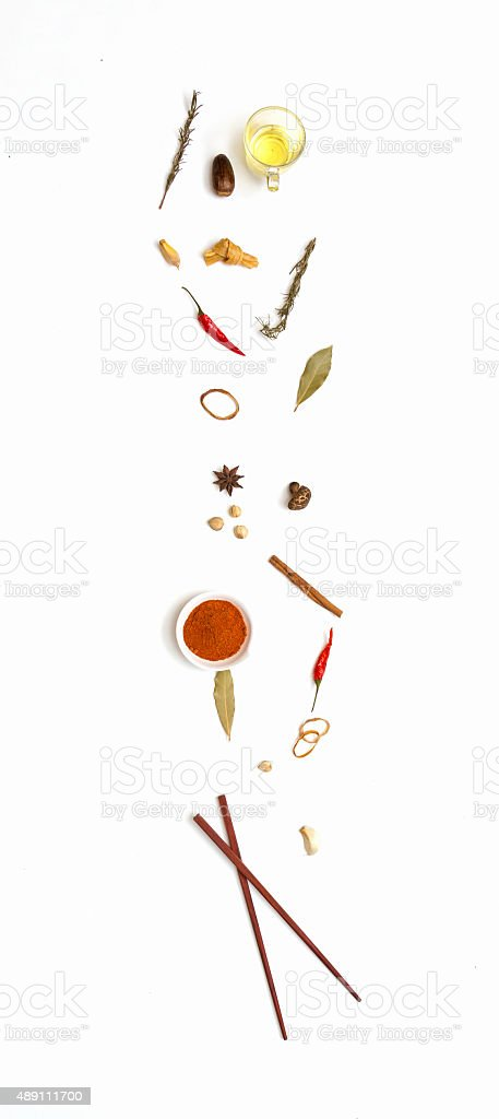 Mix spices. stock photo