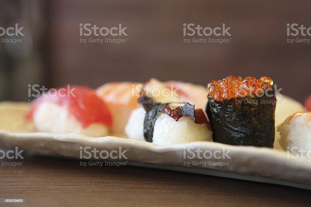mix sushi royalty-free stock photo