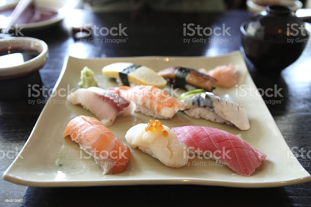 mix sushi royalty-free stock photo