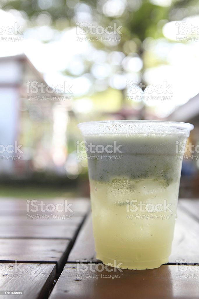 Mix Vegetable Juices royalty-free stock photo