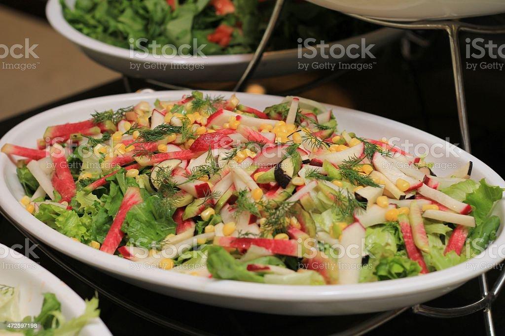 Mix Vegetable Salad stock photo