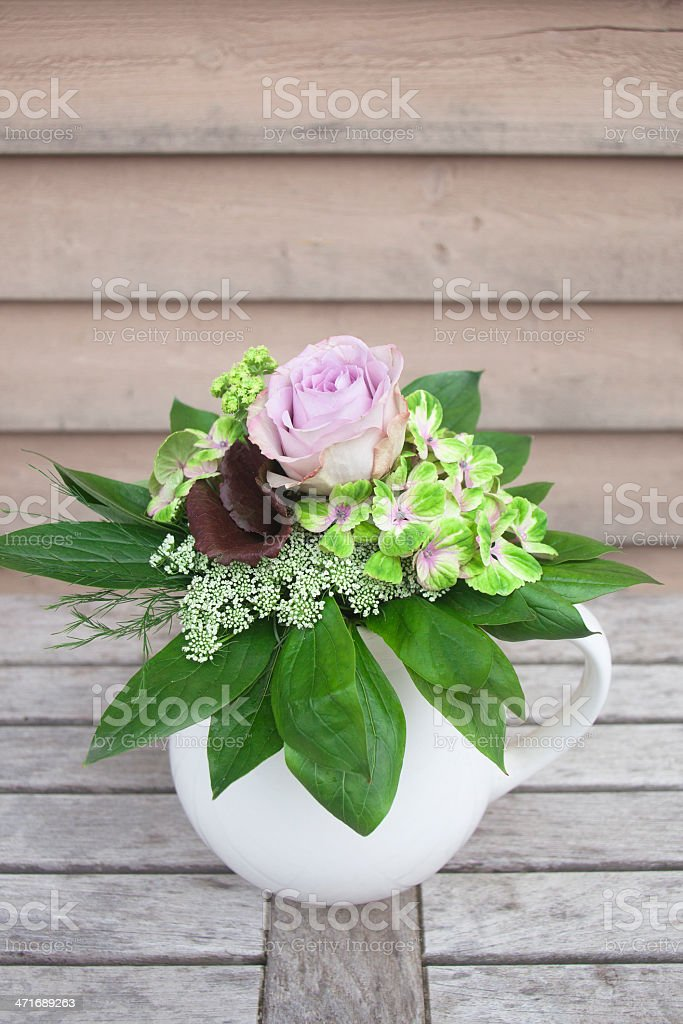 Mixed bouquet royalty-free stock photo