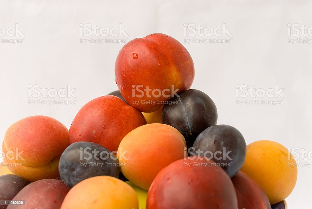 mixed  colorful fruits royalty-free stock photo