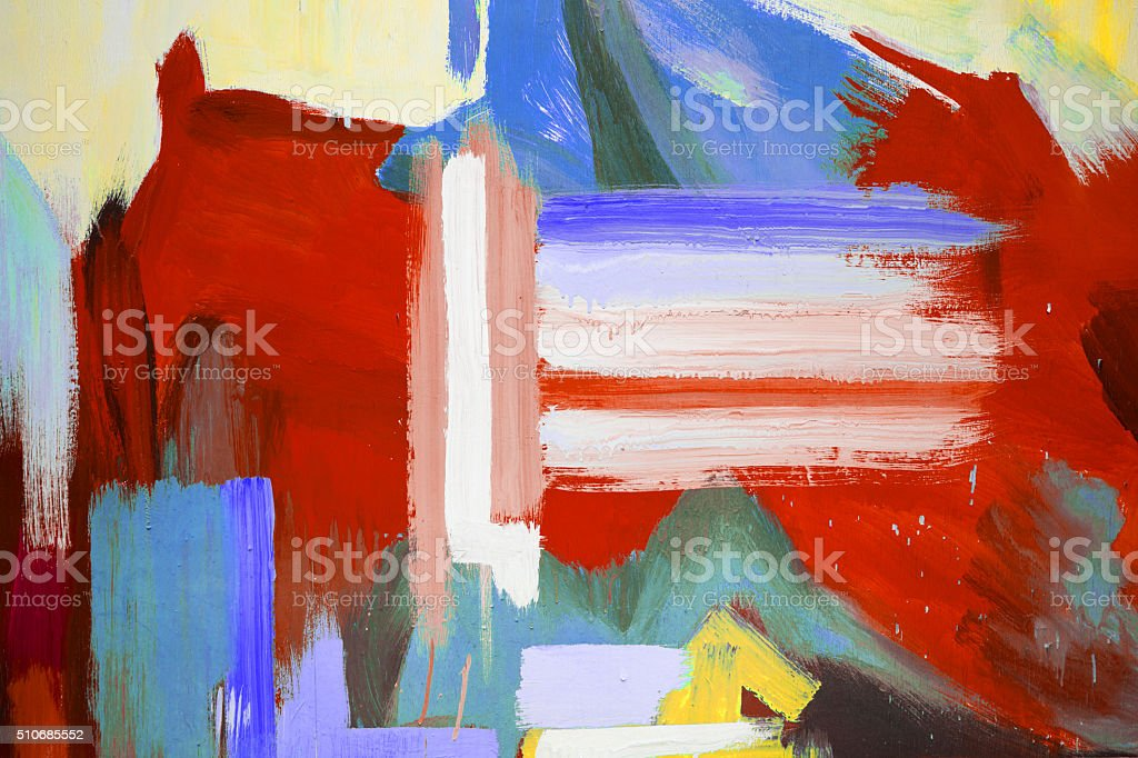 mixed Colorful wall background stock photo