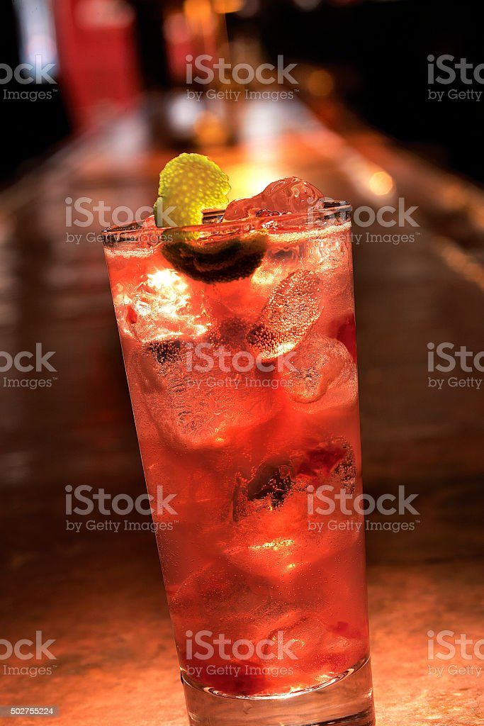 Mixed Drink Cocktail stock photo