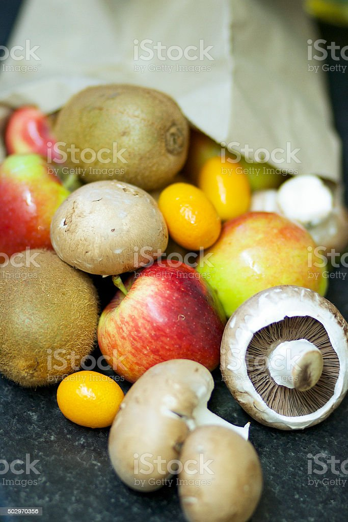 Misto frutta esotica foto stock royalty-free