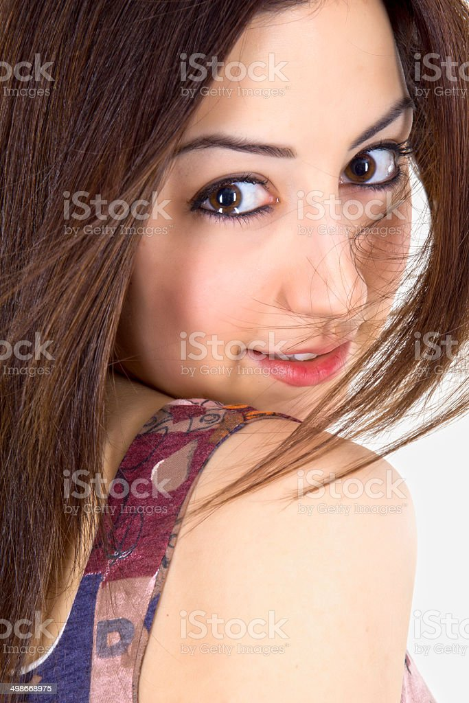 mixed feelings royalty-free stock photo