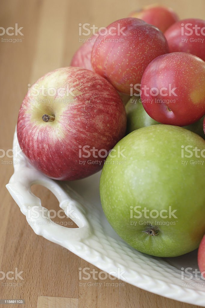 mixed fresh fruit royalty-free stock photo