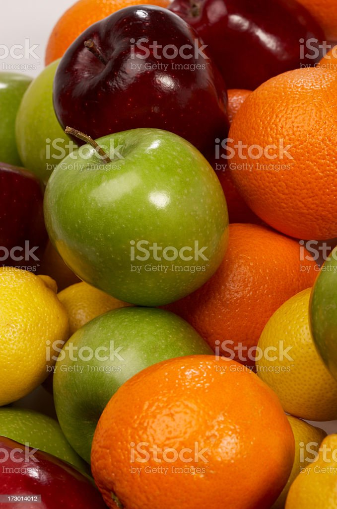 Mixed fruit bunch royalty-free stock photo