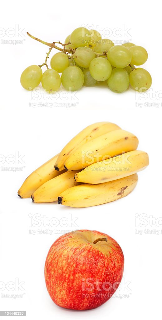 mixed fruits- Collage royalty-free stock photo