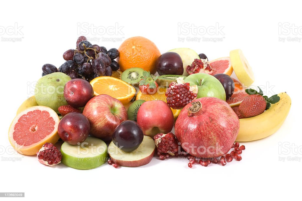 Mixed fruits royalty-free stock photo