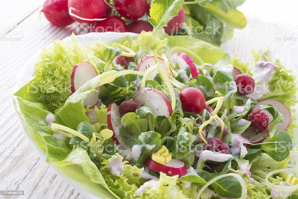 Mixed green vegetables royalty-free stock photo