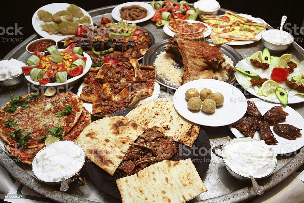 Mixed Kebabs royalty-free stock photo