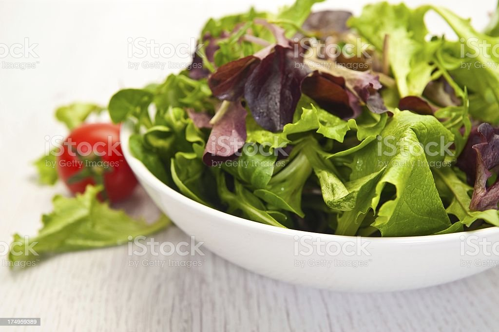 Mixed Leaf Salad royalty-free stock photo