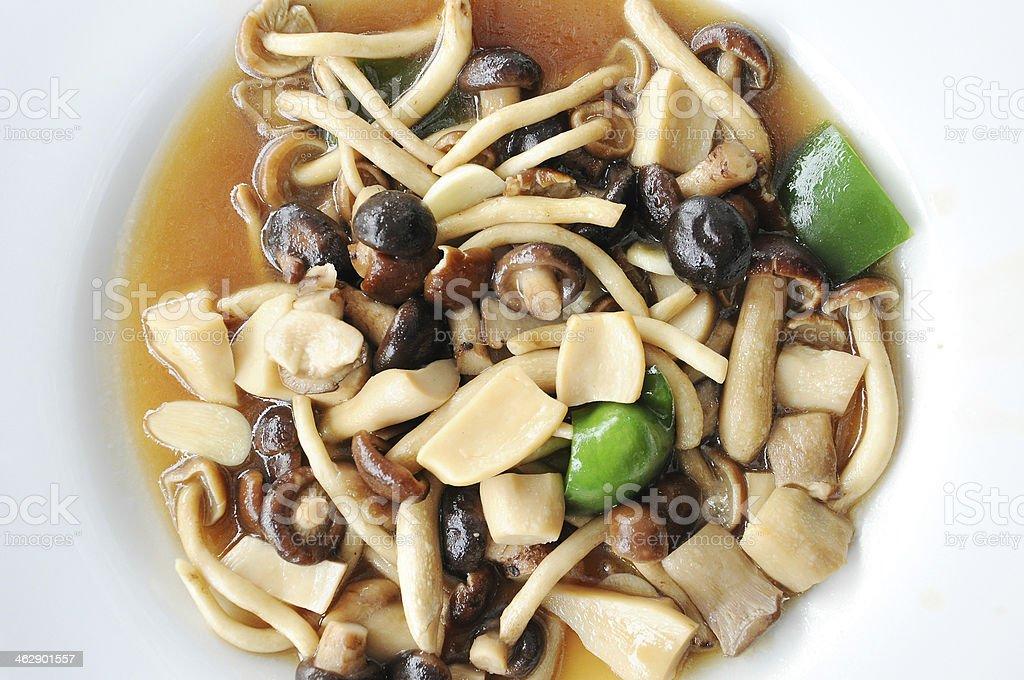 Mixed Mushrooms,Food. stock photo