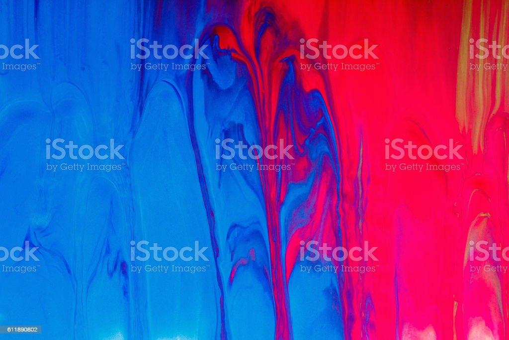 Mixed paint background stock photo