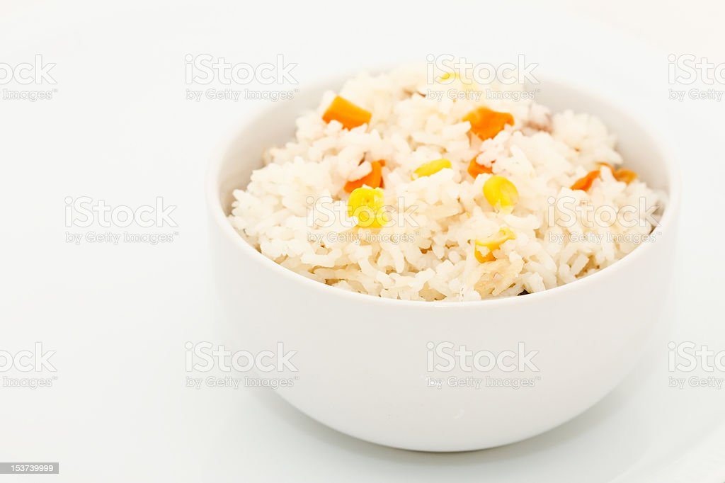 Mixed rice and cereals royalty-free stock photo